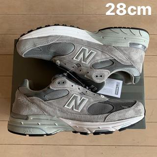 ニューバランス(New Balance)の28cm New Balance 993 グレー(スニーカー)