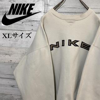 NIKE - 【激レア】ナイキ☆刺繍ビッグロゴ ビッグサイズ スウェット プルオーバー