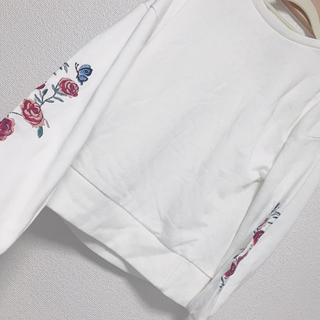 INGNI - 刺繍トップス
