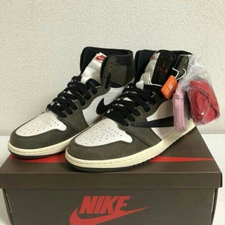 NIKE - NIKE AIR JORDAN1 TRAVIS SCOTT 24.5cm