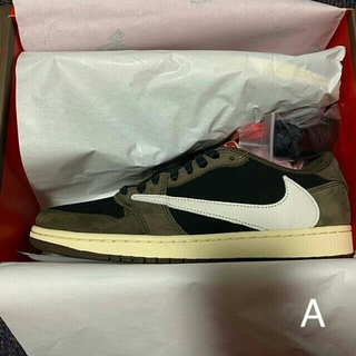 NIKE - NIKE AIR JORDAN 1 LOW TRAVIS SCOTT 28cm