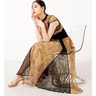 snidel - 完売色🌷新作新品🍀スナイデル スィッチイングレースドレス
