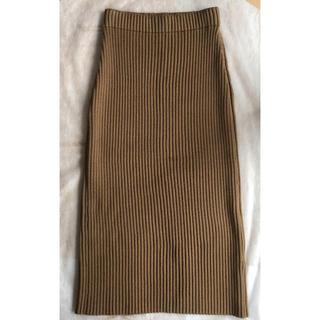 L'Appartement DEUXIEME CLASSE - 【色っぽ】定価5万/贅沢キャメル♡リブタイトスカート