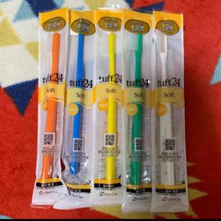 タフト24歯ブラシ S ソフト 5本セット