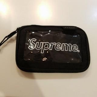 シュプリーム(Supreme)のシュプリーム ポーチ 財布 パスケース カードケース (折り財布)
