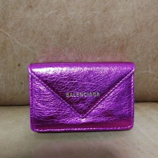 Balenciaga - バレンシアガ☺️🍀三つ折り財布👛美品