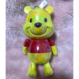 新品・ディズニー・くまのプーさん・キーホルダー・手のひらサイズ(キャラクターグッズ)