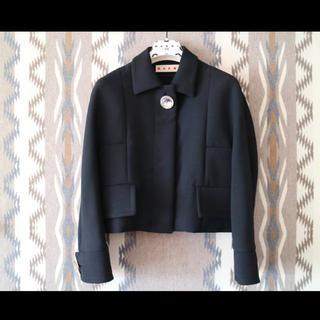マルニ(Marni)のマルニ 春コート ジャケット キラキラボタンジャケット(テーラードジャケット)