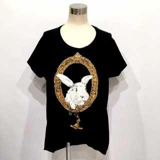 ヴィヴィアンウエストウッド(Vivienne Westwood)の美品 ヴィヴィアンウエストウッド バニーインフレーム ドルマン Tシャツ(Tシャツ(半袖/袖なし))