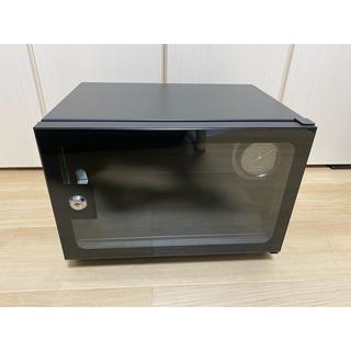 防湿庫 カメラドライキャビネット日本製アナログ湿度計自動除湿21L(防湿庫)