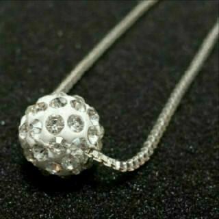 SWAROVSKI - f10 ❇️スカビオサ❇️ ダイヤモンド キュービック ジルコニア ネックレス