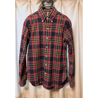 サイ(Scye)のscye basics チェックシャツ 38(シャツ)