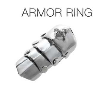 アーマーリング 指輪 メンズ ロック レディース パンク NANA コスプレ(リング(指輪))