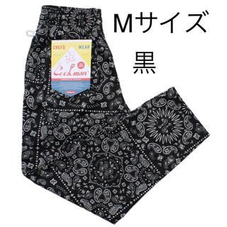 Supreme - 新品 Cookman ChefPants ペイズリー サイズM 黒 Black