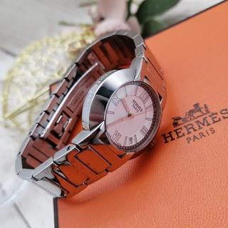 Hermes - 極美品✨エルメス ノマード✨動作保証付き 二次電池交換済 レディース 腕時計