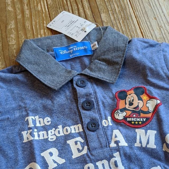 Disney(ディズニー)のあやちゃん様専用ページ ディズニーリゾート ポロシャツ キッズ/ベビー/マタニティのキッズ服男の子用(90cm~)(Tシャツ/カットソー)の商品写真