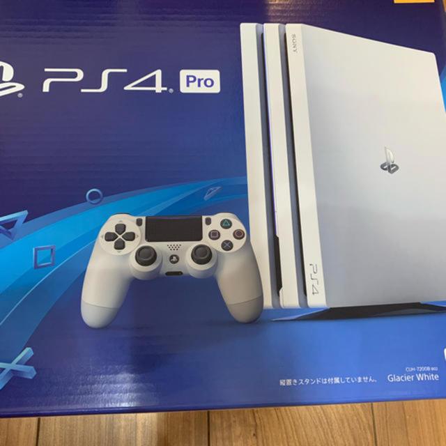 PlayStation4(プレイステーション4)のプレステ4 pro 1TB  エンタメ/ホビーのゲームソフト/ゲーム機本体(家庭用ゲーム機本体)の商品写真