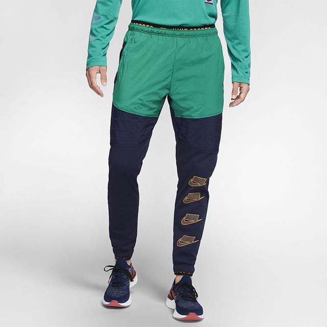 NIKE(ナイキ)のナイキ NIKE サーマ パンツ スウェット ロゴ ブロックロゴ ジョガー メンズのトップス(スウェット)の商品写真