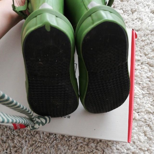 HUNTER(ハンター)のハンター箱有りキッズ長靴 キッズ/ベビー/マタニティのキッズ靴/シューズ(15cm~)(長靴/レインシューズ)の商品写真