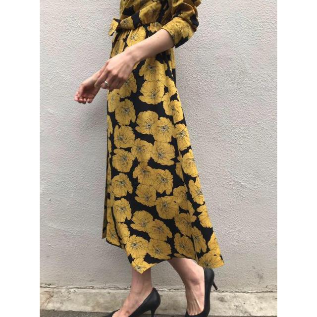 Ameri VINTAGE(アメリヴィンテージ)のAmeri VINTAGE☆TIE SHIRT DRESS/シャツワンピース レディースのワンピース(ロングワンピース/マキシワンピース)の商品写真