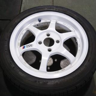 SSR type-C 15インチ 4H-100 タイヤホイール4本