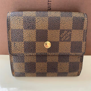 LOUIS VUITTON - 正規品ルイヴィトン折財布 ダミエ