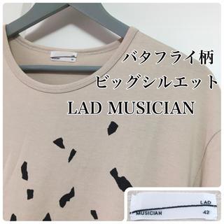 ラッドミュージシャン(LAD MUSICIAN)の1回短時間使用☆ビッグシルエット☆XL相当☆ラッドミュージシャン BIGTシャツ(Tシャツ/カットソー(半袖/袖なし))