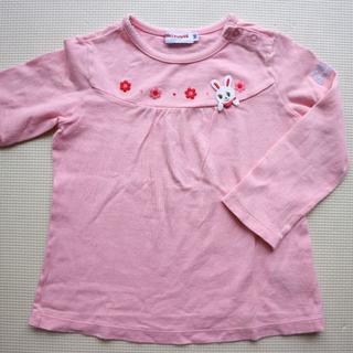 mikihouse - ミキハウス90cmうさ子 長袖Tシャツ