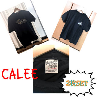 キャリー(CALEE)のCALEE PU混合Tシャツ 2枚セット calee(Tシャツ/カットソー(半袖/袖なし))