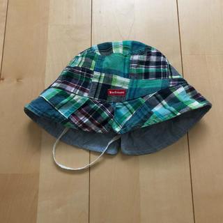 HOT BISCUITS - ☆ミキハウス ホットビスケッツ リバーシブルハット 52cm☆