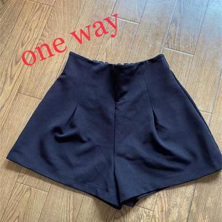ワンウェイ(one*way)の♡one way*ショートパンツ*キュロット♡(ショートパンツ)