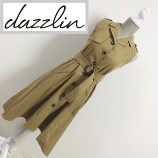 dazzlin - 新品未使用 トレンチワンピース ベージュ