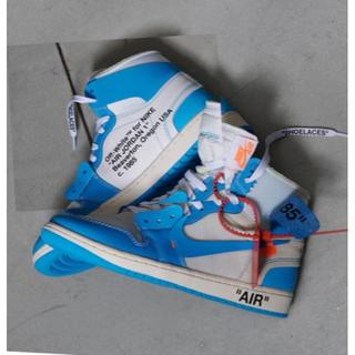 NIKE - NIKE AIR JORDAN 1 X OFF-WHITE NRG 27.0cm