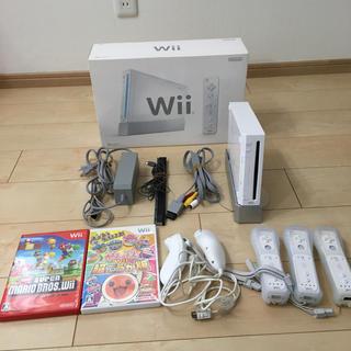 Wii - Nintendo wii 本体 ソフト2本 セット リモコン付き