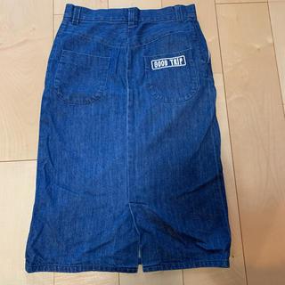 オオシマレイ(OSHIMA REI)のOSHIMA  REI KIN デニムスカート(ひざ丈スカート)