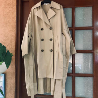 ENFOLD - ENFOLD エンフォルド boxslit coat
