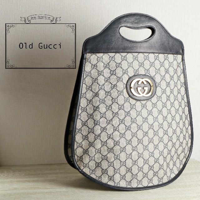 グッチ 時計 レディース 革 スーパー コピー   Gucci - 美品 OLD GUCCI オールド グッチ GG PVC ハンド バッグの通販