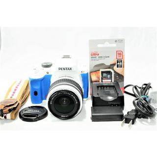 PENTAX デジタル一眼レフカメラ K-x レンズキットオーダーカラー(デジタル一眼)