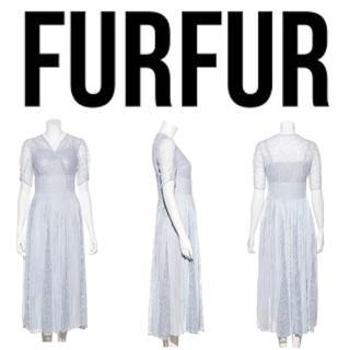fur fur - 【 FUR FUR】新作♡レース切り替えワンピース+.* ドレス 結婚式 二次会