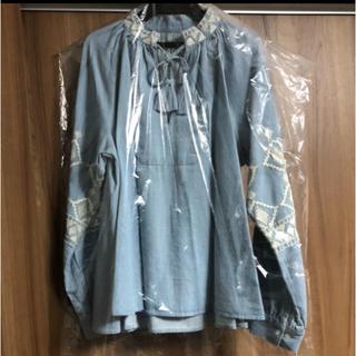GRACE CONTINENTAL - ‼️最終値下げ‼️新品☆グレースコンチネンタル☆サイズ36☆デニム刺繍トップス