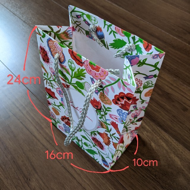 KesalanPatharan(ケサランパサラン)のケセランパサラン★5枚セット 紙袋 ショッパー ショップ袋  レディースのバッグ(ショップ袋)の商品写真