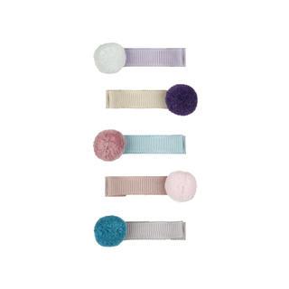 Bonpoint - ♡MIMI&LULA♡ポンポン ヘアクリップ5pセット