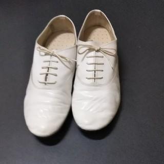レペット(repetto)のrepetto ziziホワイト43(ドレス/ビジネス)