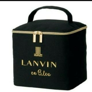 LANVIN en Bleu - sweet スウィート 1月号付録 ランバン オン ブルー マルチボックス