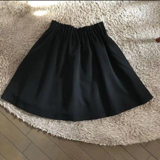 RETRO GIRL - フレアスカート 黒