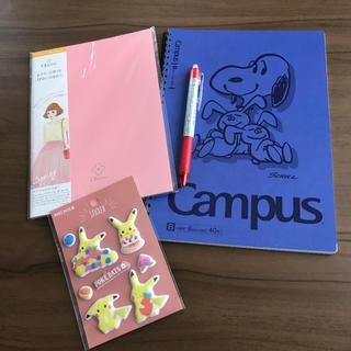 SNOOPY - 新品未使用ボールペンまとめ売りノート文房具スヌーピー ポケモン ぷっくりシール
