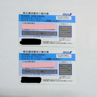 ANA(全日本空輸) - ANA株主優待券2枚セット
