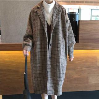 Lochie - グランチェック ロングジャケットコート