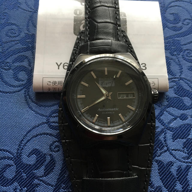 Onitsuka Tiger(オニツカタイガー)の希少❗️オニツカタイガー自動巻き未使用品 メンズの時計(腕時計(アナログ))の商品写真