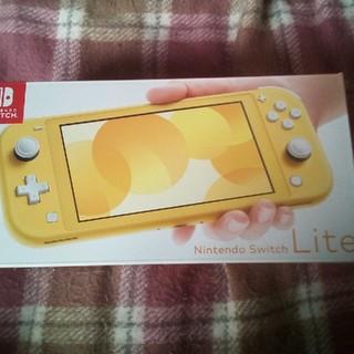 ニンテンドースイッチ(Nintendo Switch)のニンテンドースイッチ Lite 本体 イエロー(携帯用ゲーム機本体)